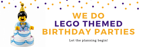LEGO Birthday Party organizer