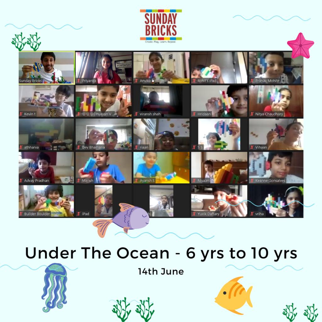 Under the Ocean - LEGO Workshop