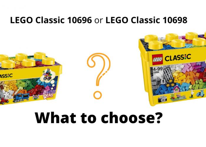 Lego classic 10696 or 10698